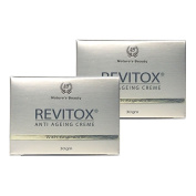NATURE'S BEAUTY Revitox Anti Ageing Cream 30g With Argireline Antarcticine Allantoin