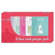 Que Bella Pamper Facial Mask Treatment Gift Pack