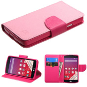MyBat LG LS660 (TRIBUTE) MyJacket Wallet with Card Slot - Retail Packaging - Pink