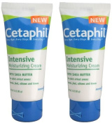 Cetaphil Intensive Moisturising Cream with Shea Butter, 90ml - 2 Pack