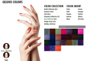 SNS Nail dipping powder Gelous colour - 9 colours Diva Collection