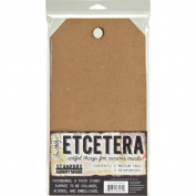 Tim Holtz Etcetera Thickboard Tags - Medium - Set of 2
