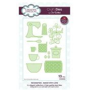 Craft Die CED23002 Sue Wilson Necessities Collection - Baked With Love