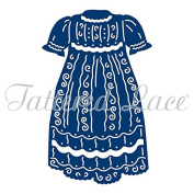 Essentials by Tattered Lace Dies ~ Christening Gown, 5.2cm x 8.2cm TTLETL434