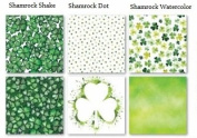 Shamrock Shake St Patricks Day - 12x12 Scrapbook Papers Set - 3pc - by Reminisce