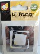 Silver Pine Frame Metal Lil' Frames for Scrapbooking