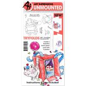 Art Impressions - MFT Rubber Stamp - Everything Wonderful