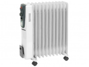 Supawarm 2500W Oil Filled Radiator Heater with Timer