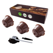 3 Cups/Pack Refillable Dolce Gusto Coffee Capsule Refilling More Than100 Times Reusable Dolce Gusto Coffee Capsule