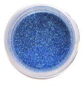 Sapphire Blue Disco Dust Glitter 5 grammes Edible Decorating Dusts from Bakell