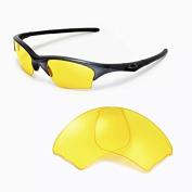 Sunglasses Restorer Yellow Polarised Replacement Lenses for Oakley Flak Jacket XL