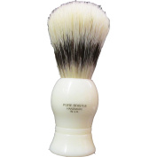 Deluxe Boar Bristle Shave Brush #9 with a cream handle