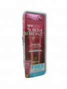 Loreal Sublime Bronze Summer Express Face Bronzer Cream Sunscreen SPF 20 Medium 30ml Free Gift Size Body Makeup Lotion