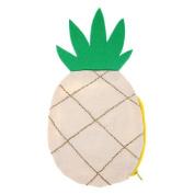 Meri Meri Small Canvas Pouch - Pineapple
