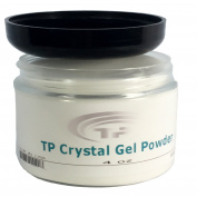 Crystal Gel Powder. Advanced Polymer TP Crystal Gel Powder, TP Natural Dipping Powder Base.