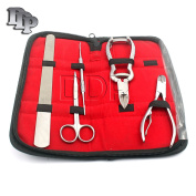 DDP CHIROPODY INSTRUMENTS KIT, PODIATRY TOE NAIL CLIPPER NIPPER FILE SCISSORS