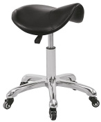 BEAUTY SALON SADDLE SEAT ROLLING STOOL MANICURE PEDICURE TECHINICIAN STOOL DOCTOR OFFICE TATTOO STOOL WITH HEIGHT ADJUSTMENT …
