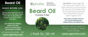 OpNutra Beard Oil Yukon Pine Scented Beard Oil