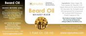 OpNutra Beard Oil Whiskey River Scented Beard Oil