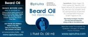 OpNutra Beard Oil The Professional Scented Beard Oil