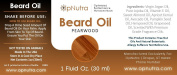 OpNutra Beard Oil Pearwood Scented Beard Oil
