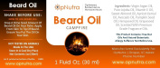 OpNutra Beard Oil Campfire Scented Beard Oil