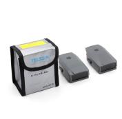 Rukiwa Battery Fireproof Explosionproof Storage Bag Case Safety For DJI Mavic Pro