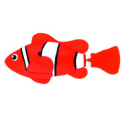 Adarl Simulation Swimming Electronic Fish Activated Battery Powered Robo Fish Children Kids Bathing Water Toys Red