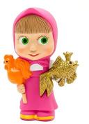 [RusToyShop] Masha and the Bear Bath Bathtub Toys, Masha Russian Cartoon, Toy Rubber 11 Cm Gift, Party Favours Toppers, Birthday, Holiday, Christmas