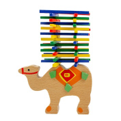 Doober Baby's Educational Balancing Camel Blocks Kids Wooden Toys For Child