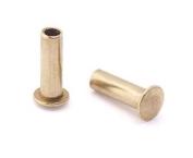 0.2cm Dia. 0.7cm Long Brass Rivet