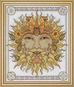 Design Works Counted Cross Stitch kit - Sun
