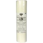 "H2O ""Eau"" Gone White FSL 38cm x 25 Yard Roll. Wash n Gone - Wash Away - SuperStable Embroidery Stabiliser Backing"