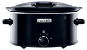 Crock-Pot CSC031 Slow Cooker with Hinged Lid, 5.7 L