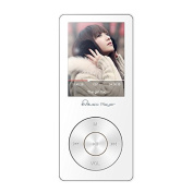 HONGYU Portable Music Player , 8GB Lossless MP3 Player 60 Hours Playback Hi-Fi Sound, Updated Audio Player Voice Recorder / FM Radio Expandable Up to 64GB