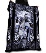 BLACK HEART BALLET Fleece Blanket / Throw / Tapestry etc.Official Chris Lovell Offical Merchandise