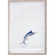 Betsy Drake GT015 Blue Marlin Guest Towel