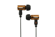 Fostex TE-13cm -Ear Stereo Headphones with Detachable Cable and Microphone, Bronze
