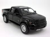 Ford F-150 SVT Raptor 1/46 Scale Diecast Metal Model - BLACK SOLID