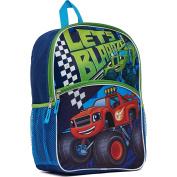 Nickelodeon Blaze & The Monster Machines 41cm Kids Light Up Backpack - Blue
