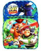 Disney Pixar Toy Story 41cm Canvas Green & Blue School Backpack