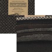 Primitive Gatherings Hand Dyed Wool Raven Charm Pack 10 13cm Squares PRI 6007