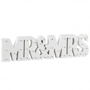 Happily Ever After Mr & Mrs LED Light