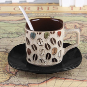 YX.LLA Continental Cup Of Coffee Mugs . Package Milk Mugs Creative Ceramic Cups Of Tea Cups Square,M