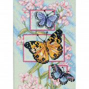 Dimensions Needlecrafts Counted Cross Stitch, Blossoms and Butterflies