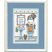 Dimensions Needlecrafts Stamped Cross Stitch, Reading Room Welcome