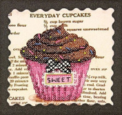 Dimensions Crafts NeedleCrafts Stamped Cross Stitch, Everyday Cupcakes