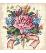 Dimensions Needlecrafts Counted Cross Stitch, Rose Bouquet
