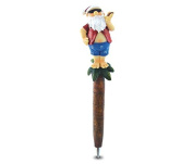 Puzzled Resin Planet Pen, Santa On An Island