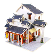 DIY Dream Miniature Dollhouse Kit 3D Puzzle Game Educational toy for teenager - Chinese Silk Store
